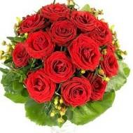 Bouquet de 12 rosas a chile