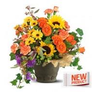Arreglo floral otoñal