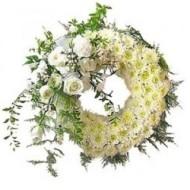 Corona Blanca de Condolencias