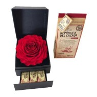 Rosa Eterna y Chocolates